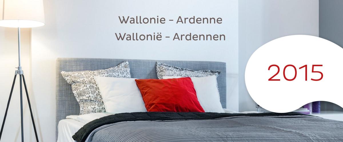 Le guide 2015 des g tes et chambres d h tes de wallonie for Chambre de commerce wallonie