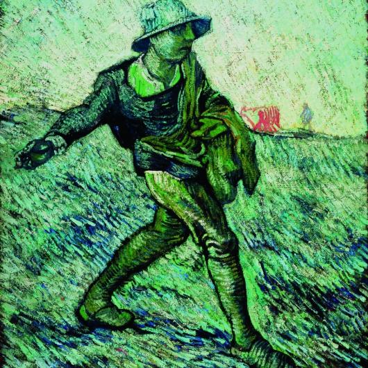 De Zaaier (naar Millet)