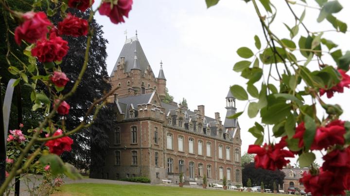 Château de Louvignies-Vue extérieure