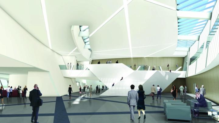 MICX-Vue de l'atrium